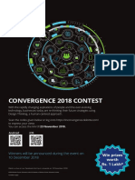 Convergence 2018 College Poster