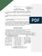 Practica 3 Word Viñetas, Comentarios, Imagenes