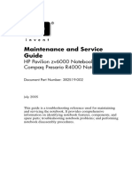 Maintenance and Service Guide - HP Pavilion zv6000 Notebook PC - Compaq Presario R4000 Notebook PC.pdf