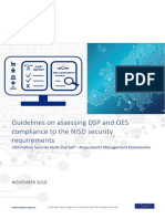 Guidelines on assessing DSP security and OES compliance with the NISD security requirements
