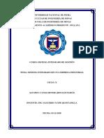 Sistema Integrado de Gestión en la industria química