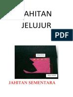 JAHITAN JELUJUR