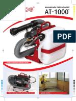 Folder Atomizador Eletrico Pulsfog Vs2