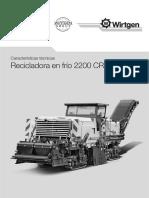 WIRTGEN2200CR.TECNICO