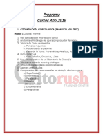 Cursos Año 2019 Citorush