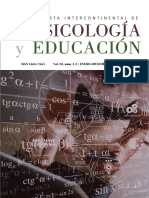 Revista Intercontinental de Psicología y Educación Vol. 20, núms 1 y 2