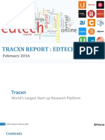 Tracxn Research EdTech Landscape February 2016