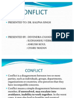 Conflict Ppt