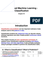 Chapter 6 - Supervised Machine Learning—Classification