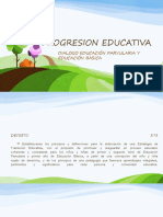 Progresion Educativa