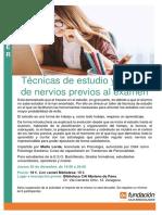 _Cartel Técnicas de Estudio y Control de Nervios_, - 20-12-2018