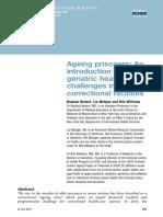 Ageing prisoners