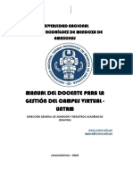 Manual Docente Para La Gestión Virtual