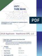 DCIB Loan for Vartan Project Presentation 2018