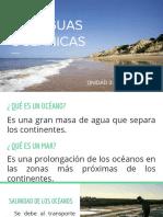 Las Aguas Oceánicas y Continentales