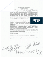 Acuerdo Salarial 2019