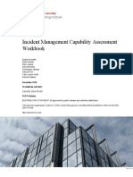 Incident Management Capability Assessment Workbook