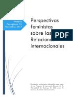 Feminismo en RRII