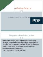 (2) Surveilans Kesehatan Matra 2