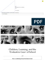 Children, Learning, And the Evaluative Gaze of School — Carol Black