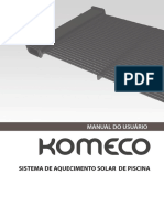 Manual Coletor Solar Komeco
