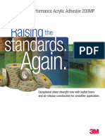 3M - PSA Selection - 200MP High Performance Acrylic Adhesive Brochure