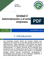 2 Administracion y Entorno en Las Empresas