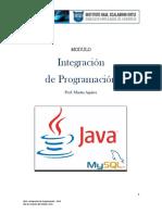 Módulo - Integración de Programación