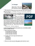 Dead Sea Problems