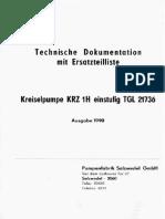 Especificaciones tecnicas de bomba alemana de alta presion