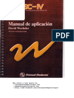 Manual Test (WISC-IV) Aplicacion