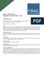 Codigo FRAC 2006