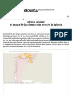 Abuso Sexual_ El Mapa de Las Denuncias Contra La Iglesia - Cosecha Roja