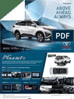 Rush 2018 Brochure