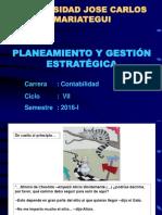 Planeamiento y Gestión Estratégica -Contabilidad- 2016-I- Vii Ciclo