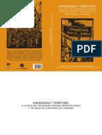 Libro PIM Universidad y Territorio