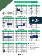 longwood school calendar 2018