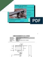 Diseño de Estribos Puente Pampahuaylla