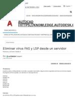 Eliminar Virus FAS y LSP Desde Un Servidor _ AutoCAD 2016 _ Autodesk Knowledge Network
