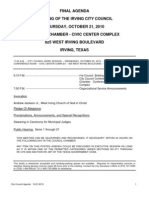 IrvingCC Packet 2010-10-21