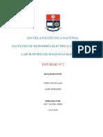 INFORME GENERADORES SINCRONICOS EN PARALELO EPN 2018