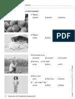 Language Log 1 Topic 2 Grammar and Vocabulary Assessment