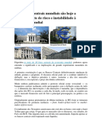 Os Bancos Centrais Mundiais São Hoje a Principal Fonte de Risco e Instabilidade à Economia Mundial