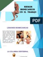 Taller Riesgo Biomecanico en El Trabajo
