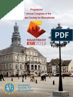 ESB 2018 Abstract Proceedings 4