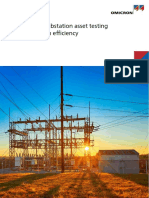 Optimized Substation Asset Testing Brochure ENU