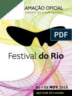 Programação Do Festival Do Rio 2018