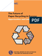 The Future of Paper Recycling in Europe