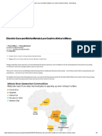 Electric Cars and Niche Metals Lure Cash to Africa's Mines - Bloomberg.pdf