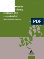 Carreras de Pedagogia Serie Estudios CNA